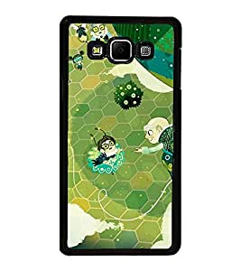 Fuson Premium 2D Back Case Cover Cartoon With Multi Background Degined For Samsung Galaxy A7::Samsung Galaxy A7 A700F
