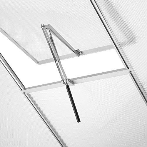 TecTake Automatischer Fensteröffner für Gewächshaus