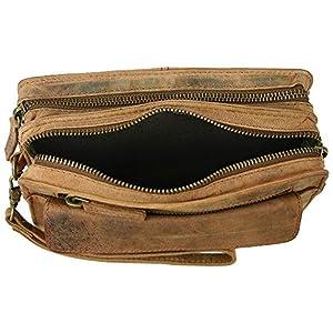 "51SjWQmRLXL. SS300  - bolso de cuero bolso masculino "" Harold´s "" Vintage cuero con correa de mano"