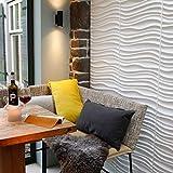 WallArt Pannelli a Parete 3D Decorazioni da Muro Murali Maxwell 12 pz GA-WA22