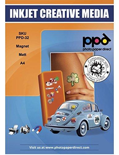 PPD Inkjet matt Magent Papier A45Blatt ppd-32–5