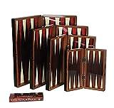 Backgammon aus Holz oder Dame Brettspiel mit würfel ca. 43 cm x 44 cm