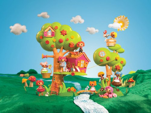 Imagen 6 de Zapf Creation 506775E4C - Mini Lalaloopsy, Casa del árbol (plástico)