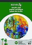 Reeves Acrylblock 15 Blatt Acrylpapier, 190g/m - DIN A3