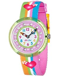 Flik Flak Fbnp003–Orologio per bambina, multicolore