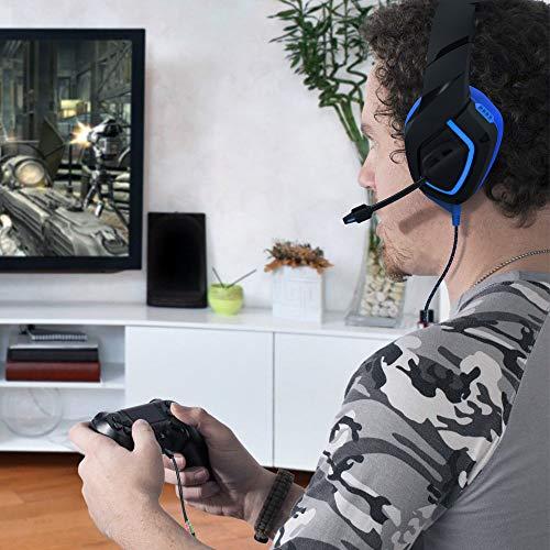 MillSO 3.5mm Audio Klinke Y Kabel– Headset Splitter Adapter mit Separater Mikrofon und Kopfhörer Buchse für Gaming Headset, Xbox One, PS4, PC, Handy und Tablet – 100CM Schwarz - 3