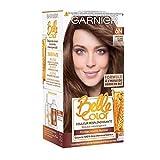 Garnier - Belle Color - Coloration permanente Châtain - 6N Châtain Clair Nude - Lot de 2