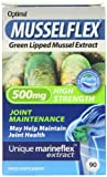 Musselflex 500mg Organic Green Lipped Mussel - Pack of 90 Tablets