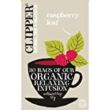 (6 PACK) - Clipper - Organic Raspberry Leaf Tea | 20 Bag | 6 PACK BUNDLE by Clipper