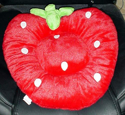 USB Wärmekissen Sitzkissen Kissen Stuhlkissen Erdbeere Stuhlhusse Sitzheizung