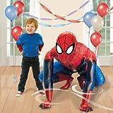 Cartoon Balloons Spiderman Airwalker Life Size Foil Helium Birthday Party XL Balloon by