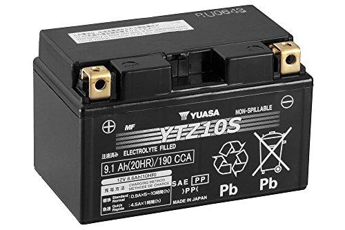 Batteria YUASA YTZ10S, 12V/8,6ah (dimensioni: 150X 87X 93) per Yamaha MT 07anno 2016