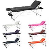 Best Portable Massage Tables - H-ROOT 3 Section Ultralight Aluminium Folding Massage Table Review