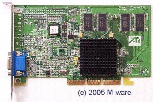 AGP-Grafikkarte Ati 3D Rage 128 Pro ID2477 (128 Pro Rage Ati)