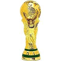 Nasidier 2018 World Cup Trophy - Figura Decorativa de Replica de Fútbol con Caja de Color (27 cm), Dorado, 27 cm