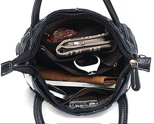 Keshi Leder Niedlich Damen Handtaschen, Hobo-Bags, Schultertaschen, Beutel, Beuteltaschen, Trend-Bags, Velours, Veloursleder, Wildleder, Tasche Mehrfarbig