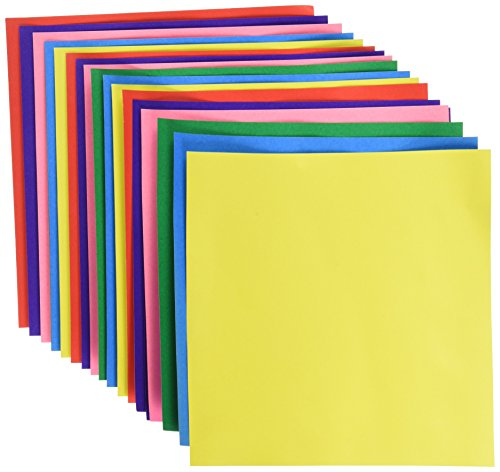 """Aitoh Origami Paper 5.875""""X5.875"""" 18 Sheets-Assorted Foil/Solid Double-Sided"""