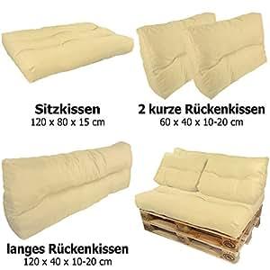 Coussins pour palette europe lounge de proheim - Coussin pour palette europe ...