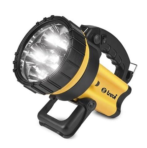 Trevi Torcione 3000 - flashlights (Universal flashlight, Black, Yellow, Plastic, LED, Built-in)