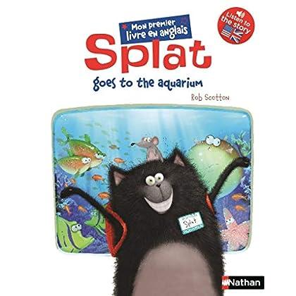 Splat goes to the aquarium