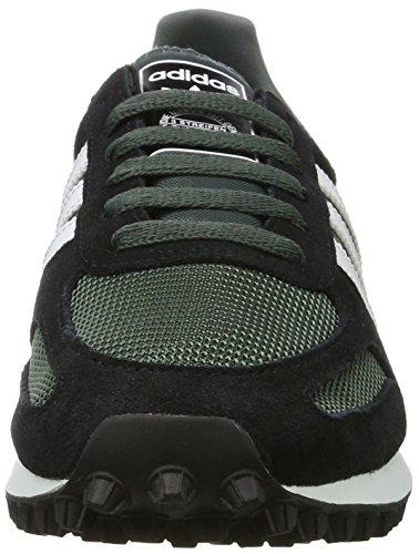 adidas La Trainer Og, chaussons dintérieur homme Noir (Utility Ivy/running White/core Black)