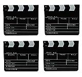 Gravidus Filmklappe Clapperboard 30x26 cm, 4er Set