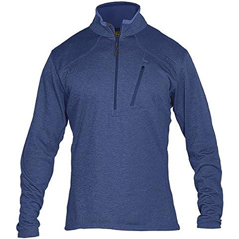 5.11 Men's Recon Half Zip Fleece Jacket, Nautical, X-Large