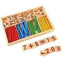 Peradix Holz Zahlen Mathematik Spielzeug Ausbildung f¨¹r Kinder