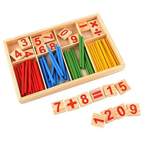 �bchen Holz Zahlen Mathematik Spielzeug Ausbildung für Kinder (Mathe-spielzeug)