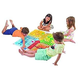 Cayro – Parchís Gigante – Juego de Mesa Infantil – parchís Infantil – Juego de cooperación Desarrollo de Habilidades…