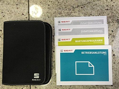 Preisvergleich Produktbild Seat Ibiza KJ Bordbuch, Serviceheft Bedienungsanleitung, Betriebsanleitung