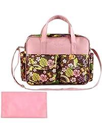 Tinksky Multi-functional Waterproof Mummy Handbag Tote Shoulder Bag Baby Diaper Nappy Bag Nursery Changing Bag...