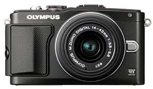 Olympus E-PL5 Interchangeable Lens Digital Camera with 14-42mm Lens (Black)