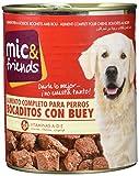 Mic & Friends Alimento Completo para Perros con Buey En Salsa - 820 g