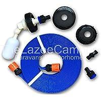 Caravan universal FLAT HOSE KIT autofill Mains Water adaptor for AQUAROLL AND SUPERPITCH fast postage lz