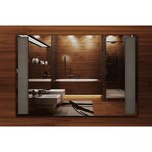Infrarotheizung Spiegel – Heizung rahmenlos mit eingebautem LED – Licht 400 Watt – Bild 2*