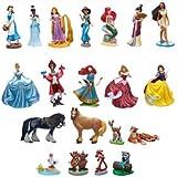Disney Princess Mega Figurine Set (cada uno viene acompañado por sus mejores amigos animales)
