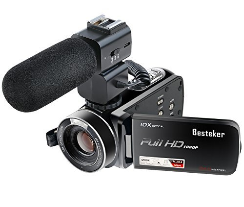 Hd video camera besteker portable digital camera 24 million pixels 1080p jp f/s