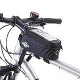 BTR Fahrradtasche und Handy-Halterung - wasserabweisende Fahrradtasche