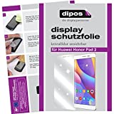 dipos I 2X Schutzfolie klar passend für Huawei Honor Pad 2 Folie Bildschirmschutzfolie