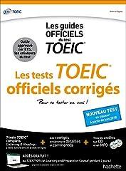 estimation pour le livre TOEIC ® : les tests officiels corrigés