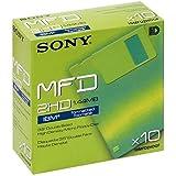 "Sony 10MFD 1.44MB 3.5"" DOS, 10pk - Disquetes (10pk, 1,44 MB, 8 - 88%, 10 - 60 °C, 8 - 90%)"