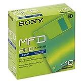Sony Disquette 3,5 pouces Haute densité formaté PC 1,44 MB 10MFD