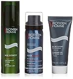Biotherm Homme Age Fitness 3er Pack ( Anti-Blemish Lotion 50 ml, 40 ml rasieren Gel ,50 ml Reinigungsschaum)