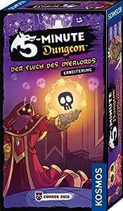 KOSMOS 691264 5-Minute Dungeon - Der Fluch des Overlords, Erweiterung von 5-Minute Dungeon für 6 Spieler