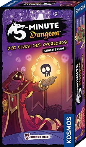 KOSMOS 691264 5-Minute Dungeon - Der Fluch des Overlords, Erweiterung von 5-Minute Dungeon für 6 Spieler -