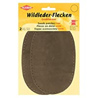 Kleiber Large Suede Sew on Trouser/Arm Patches-Brown