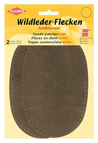 Kleiber Große Hosen-/Armflicken zum Aufnähen, braun
