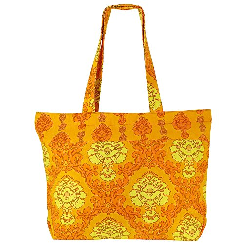 Tote Bag Multiuso - Tasca In Cotone Con Cerniera Con Doppio Manico Multi-1