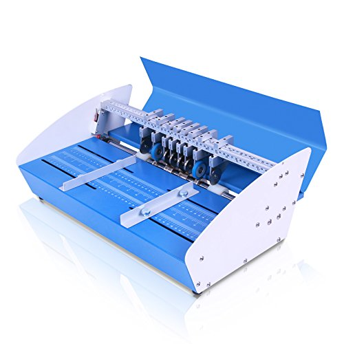 BuoQua 3 In 1 Rillmaschine 46CM Elektrische Creasing Maschine Für Papier Profi Nutmaschine Einstellbare